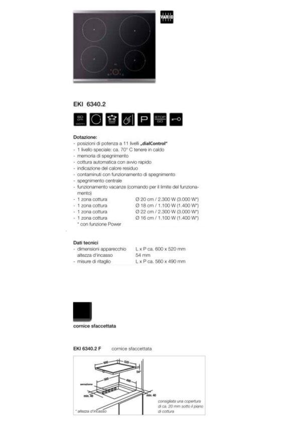 Kupperbusch EKI6340.2F PIANO COTTURA INDUZIONE KUPPERBUSCH